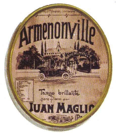 Armenonville, ubicado en Avenida Alvear (actualmente Del Libertador) esquina Tagle.