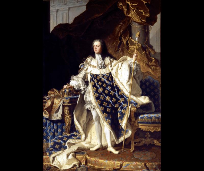 Retrato de Luis XV