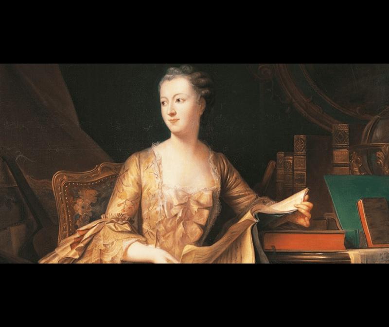 Acompañante del Luis XV, Madame de Pompadour