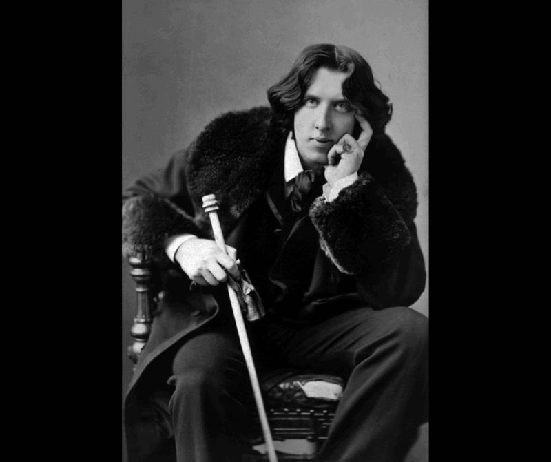 Oscar Wilde atracivo y moda