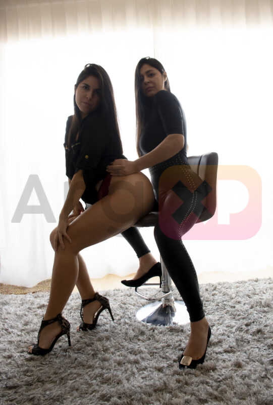 Foto de Mariana y Luciana