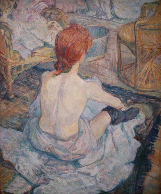 Prostitución en el arte